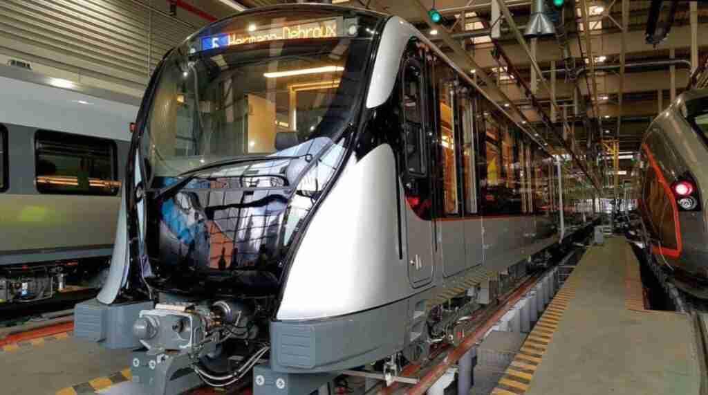 Metro de Bruselas Stib