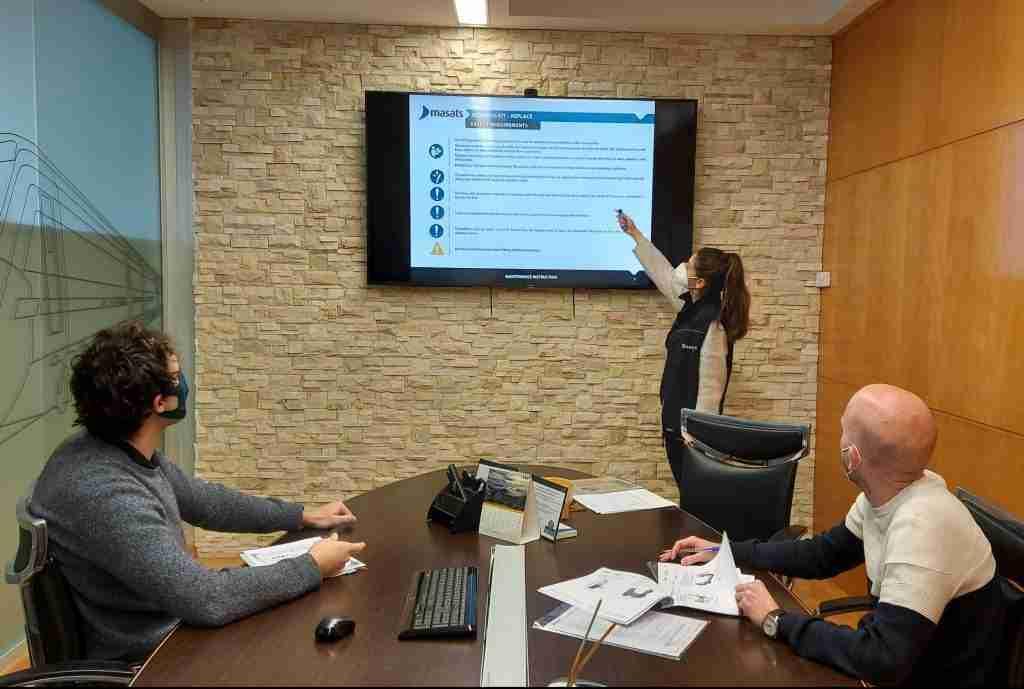 Reunión del equipo de documentación